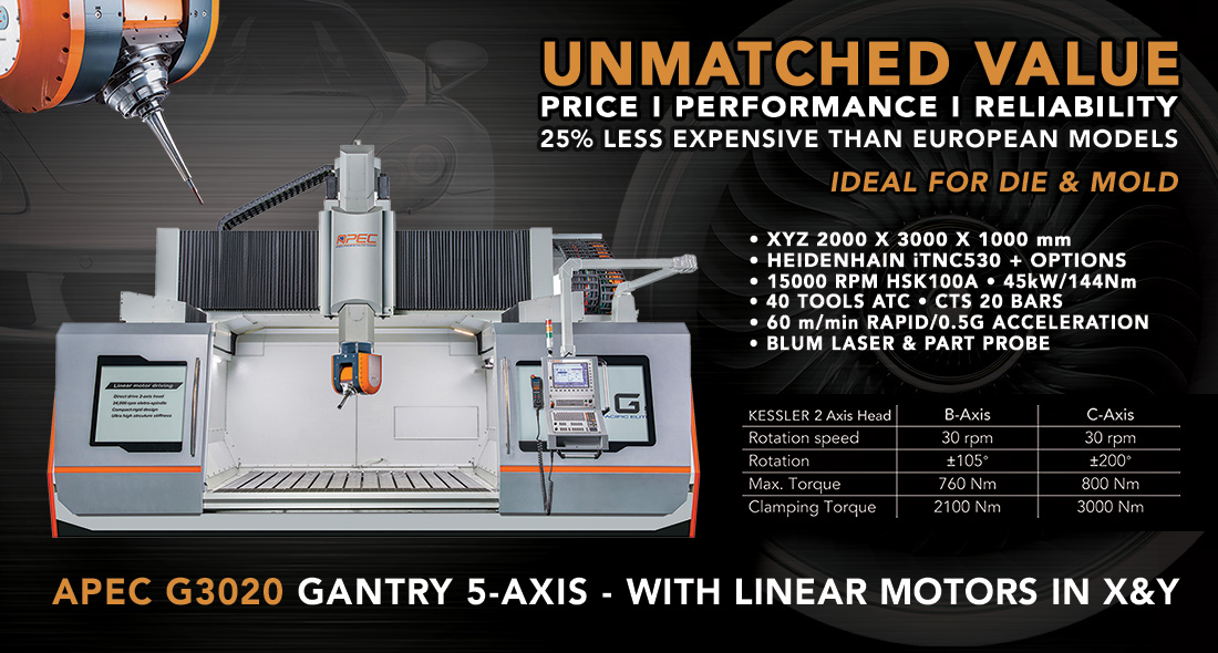 APEC G3020 GANTRY 5-AXIS